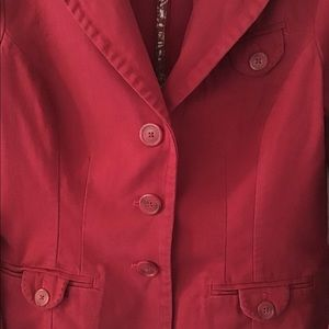 American Eagle Outfitters Jackets & Coats - ❗️SALE❗️American Eagle Pink Three Button Blazer